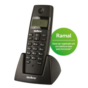 Telefone-sem-fio-Intelbras-Ramal